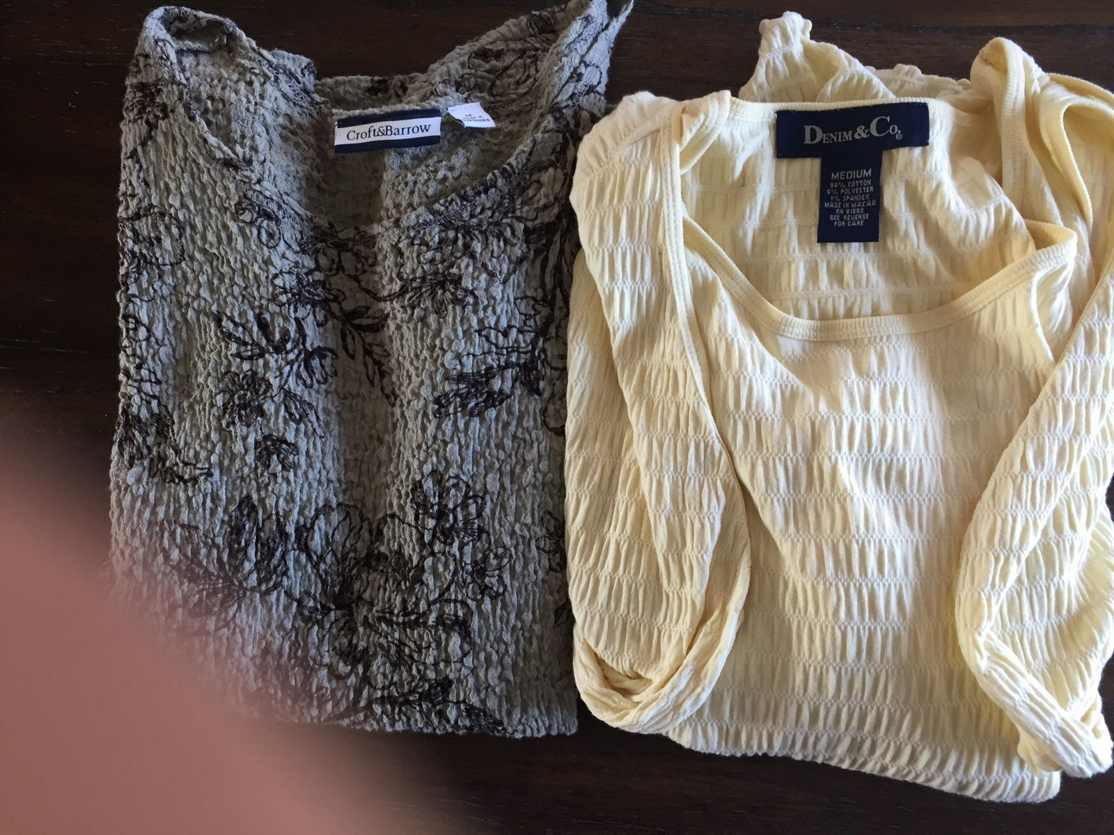 Two Womens Tops