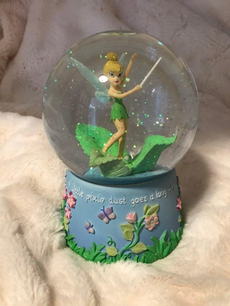 Disney Tinker Bell Musical Snow Globe
