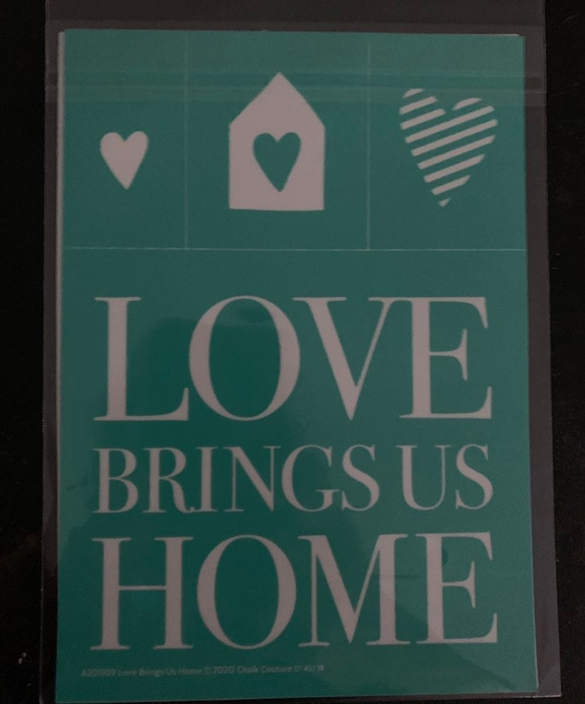 Love Brings Us Home Transfer