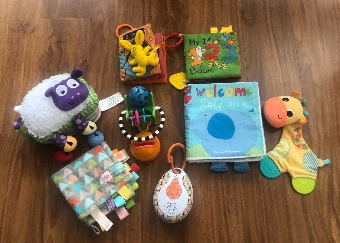 Baby Toy and Portable Sound Machine Lot