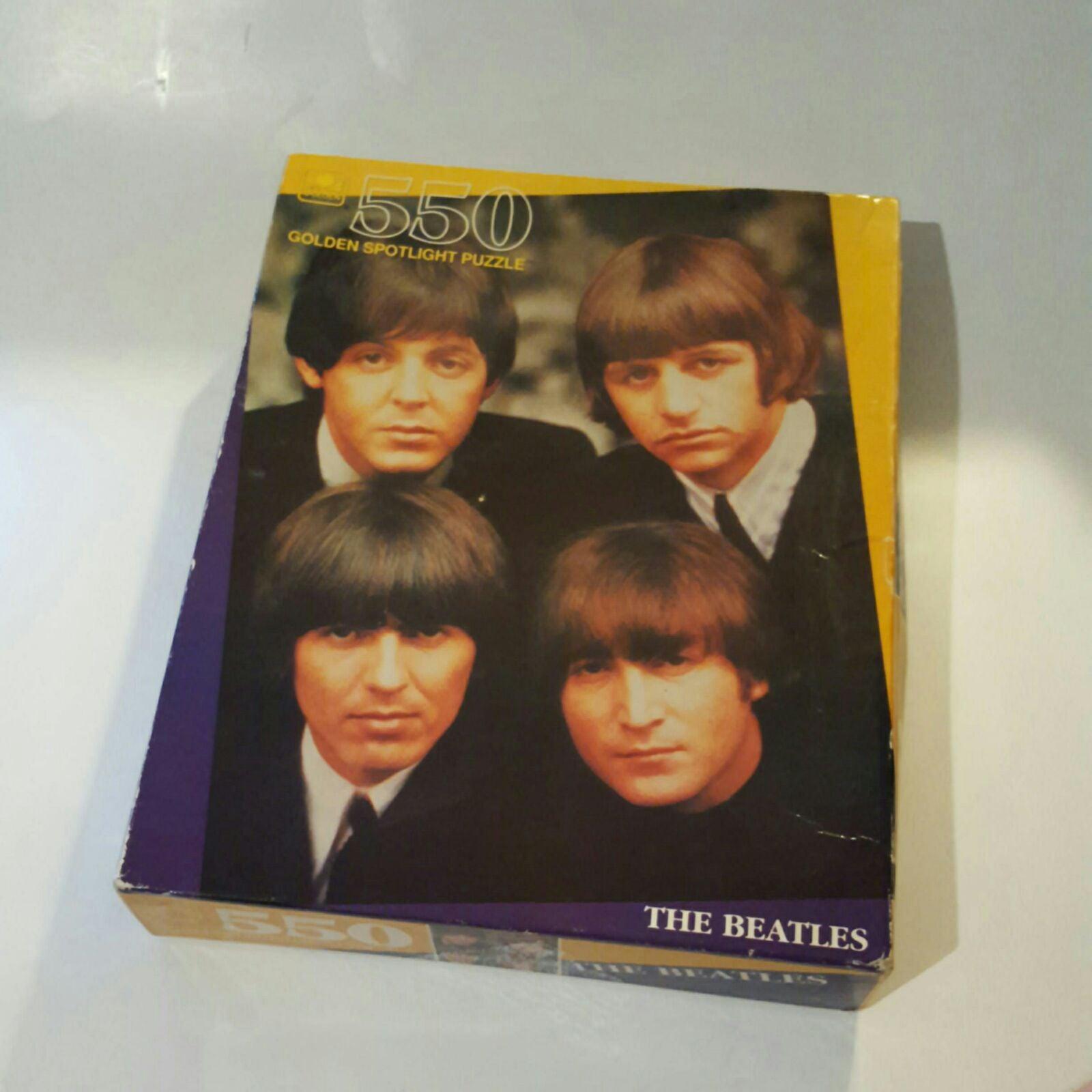 The Beatles Vintage Golden Spotlight Puz