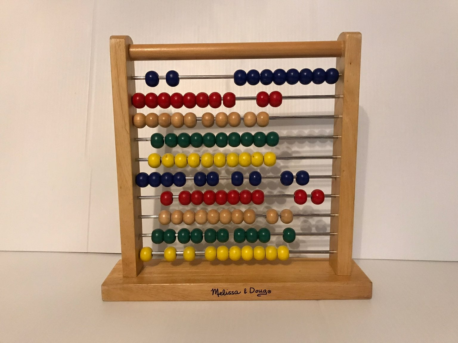 abacus classic wooden beads activity