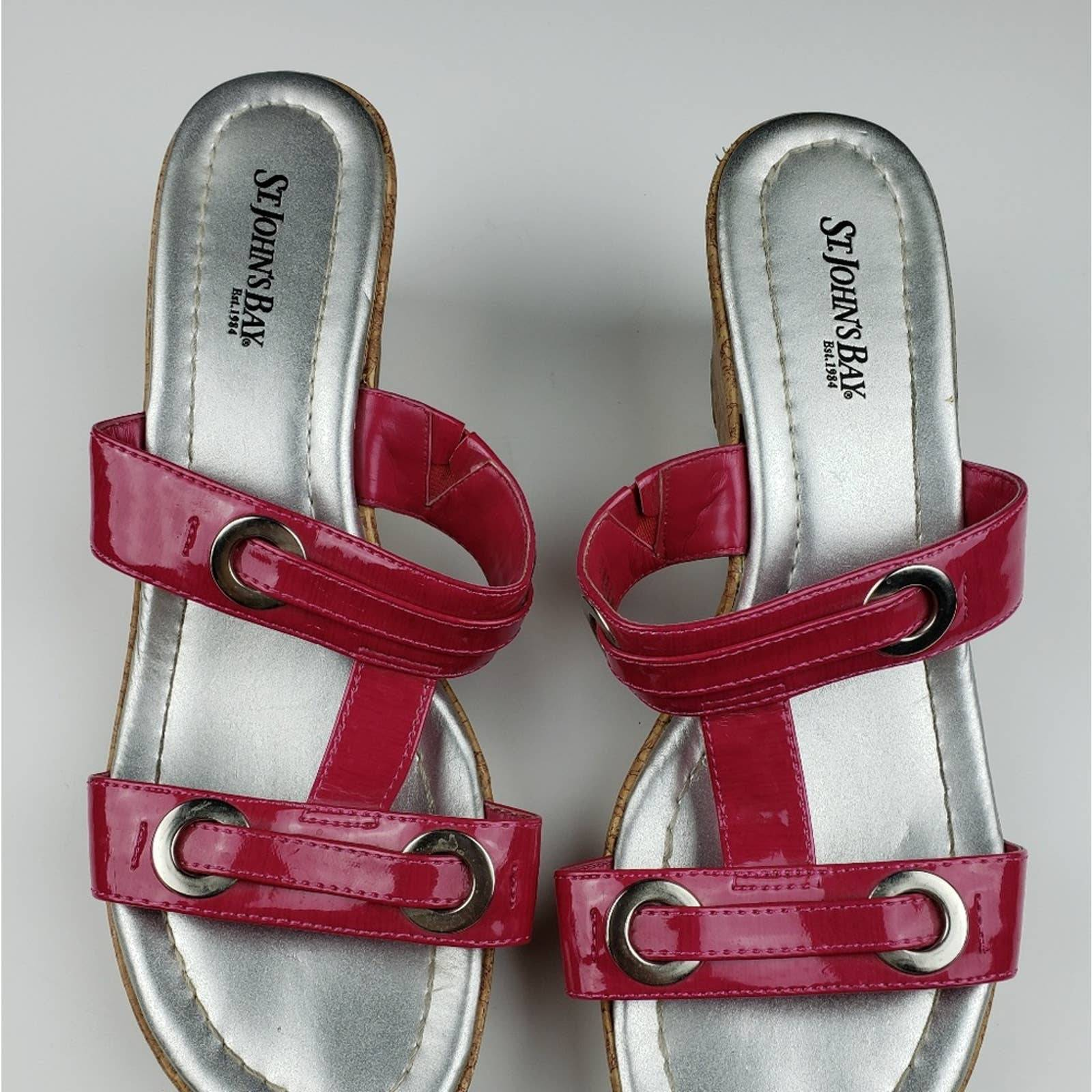 St John's Bay sandals size 9 m