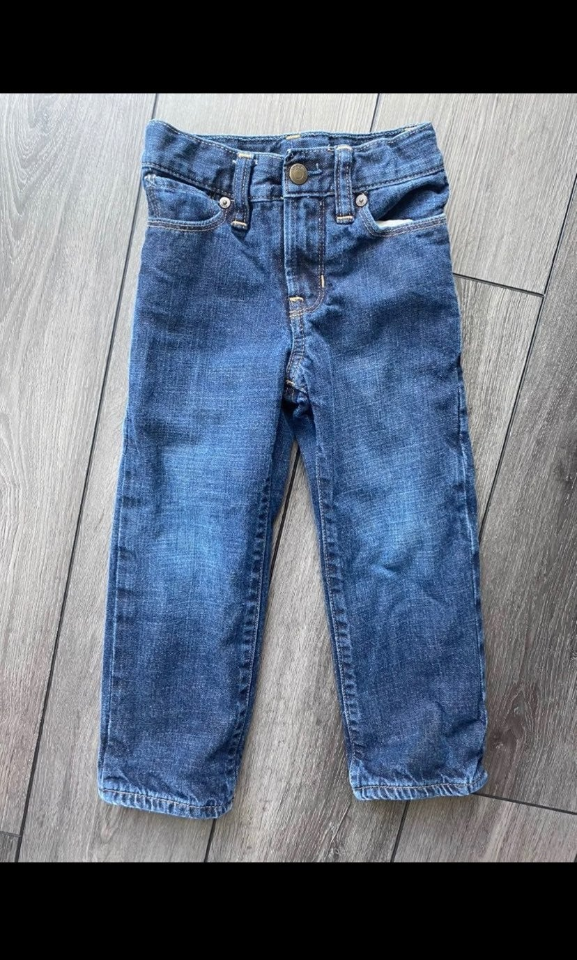 Baby Gap lined jeans 3 years