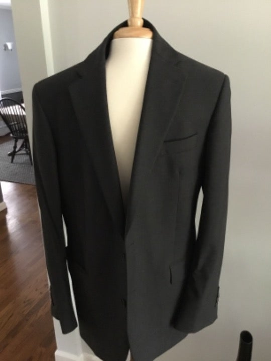 Brooks Brother 346 Stretch Suit Grey 42R