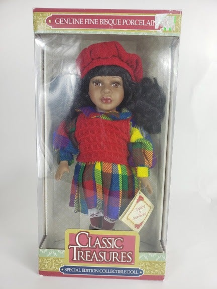 Classic Treasures Doll African Amercian