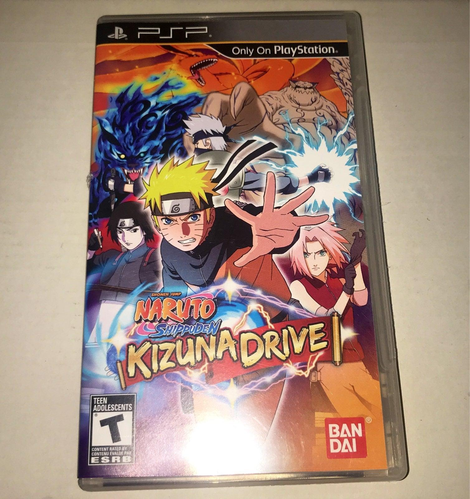 Naruto Shippūden: Kizuna Drive PSP