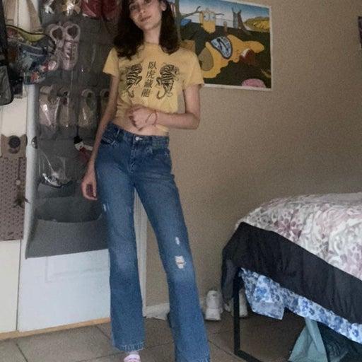 Cruel Girl Flare Jeans