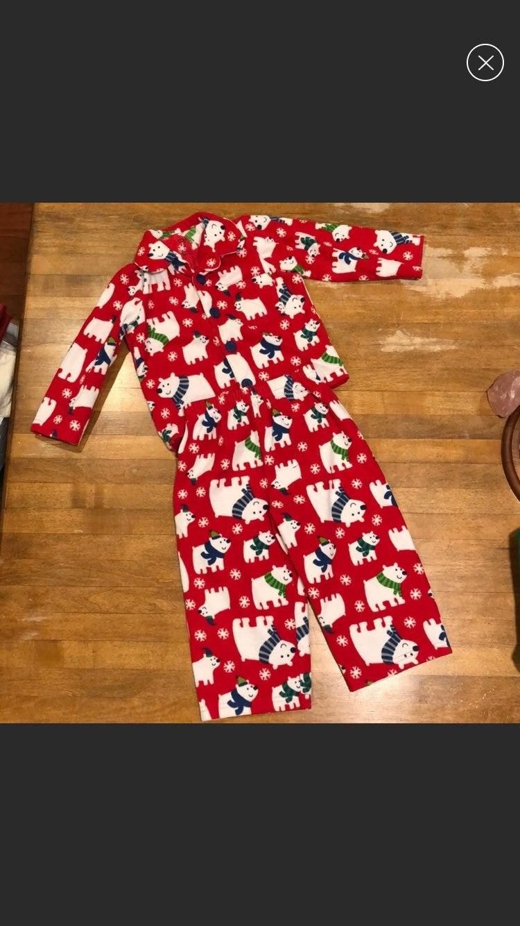 Christmas/ Winter Fleece Kid Pajamas