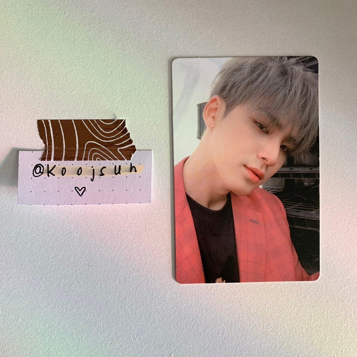 svt: an ode ver real mingyu photocard
