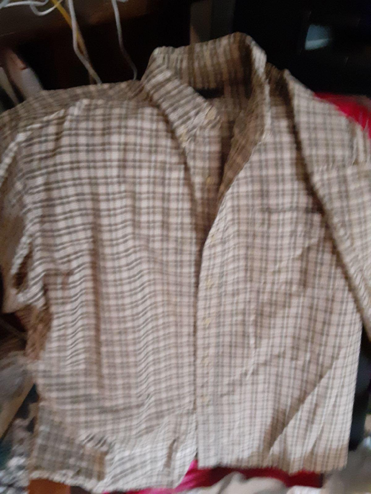Route 66 plaid long sleeve shirt