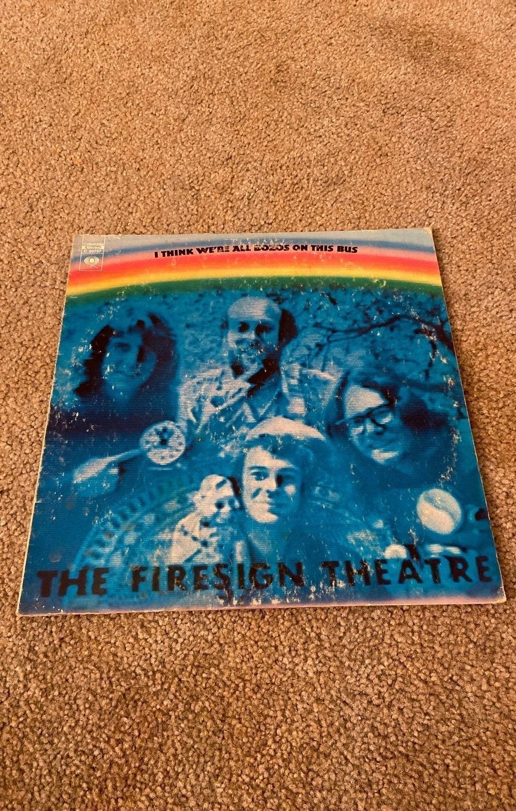 Vinyl Firesign Theatre