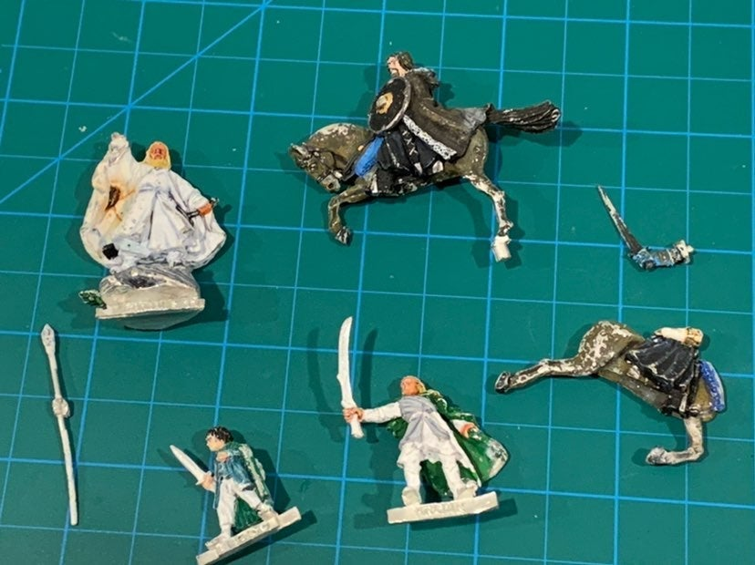 GW LOTR Lord Of The Rings Lot