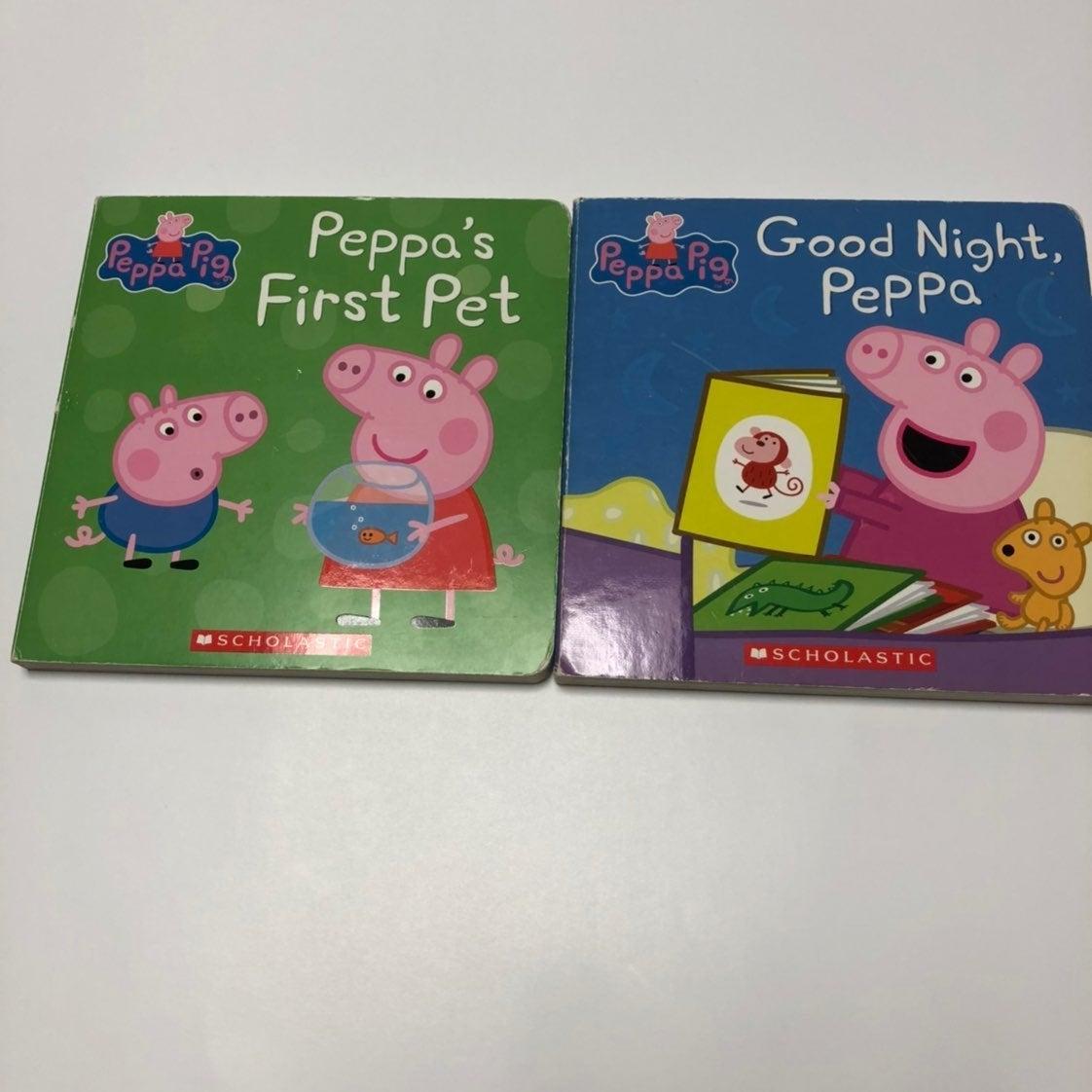 2 Peppa Pig Board Books