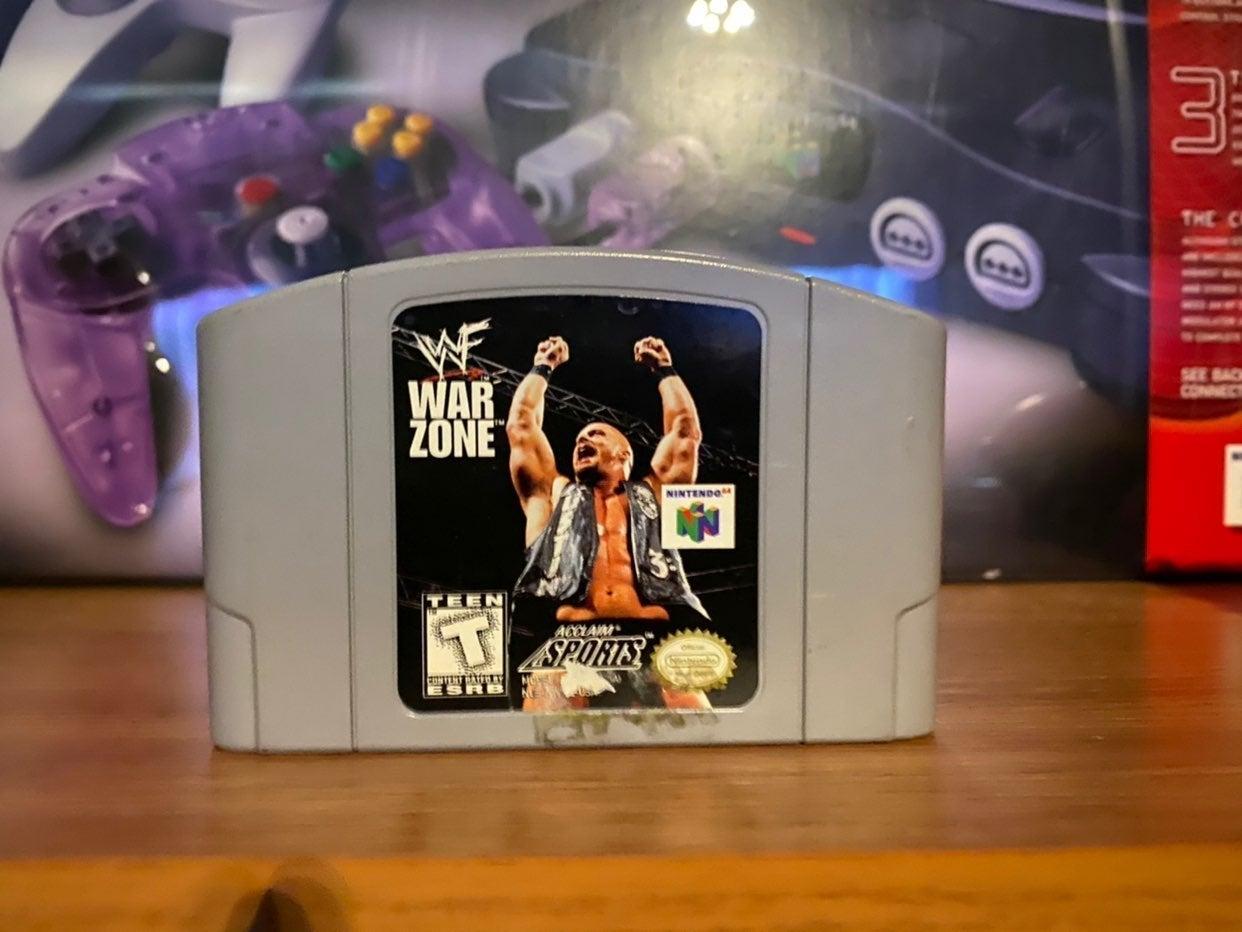 WWF War Zone N64