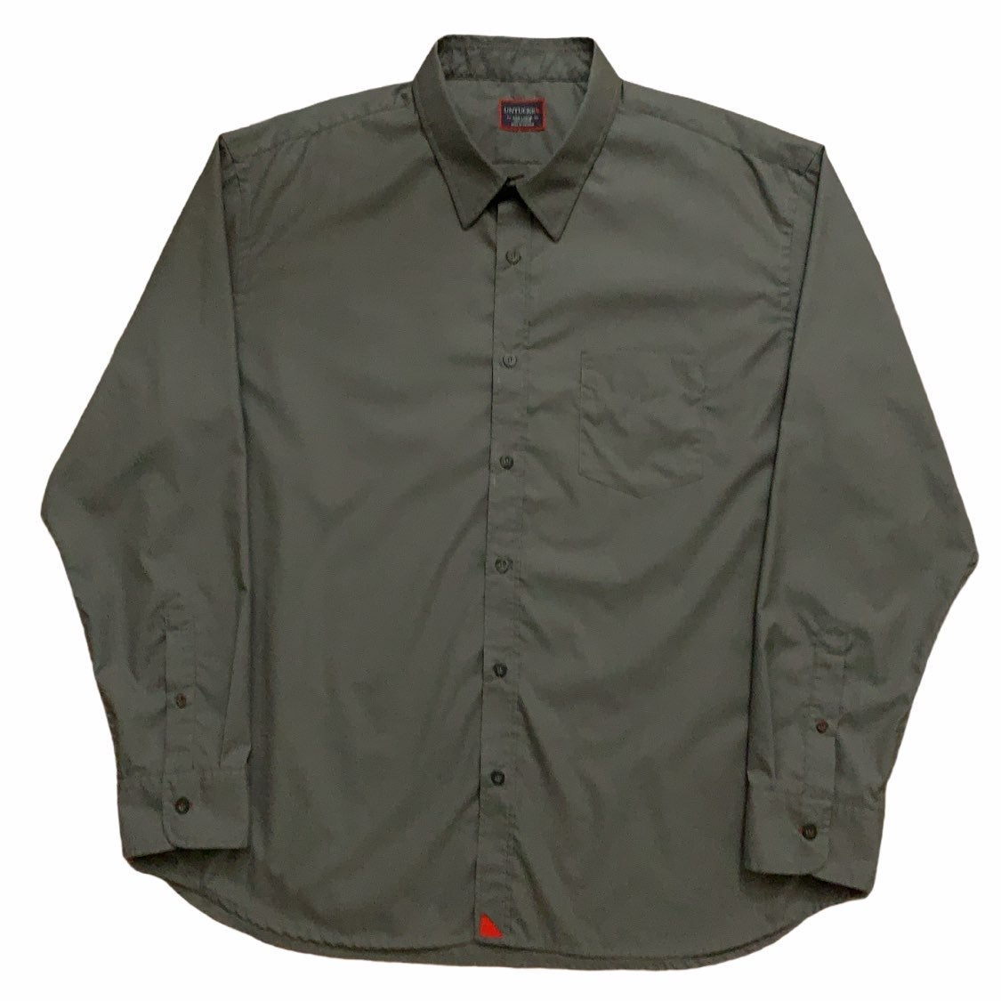 Untuckit Long Sleeve Shirt Gray 3XL