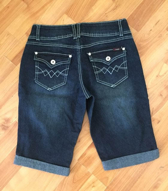 Nwot Angels Bermuda Denim Shorts