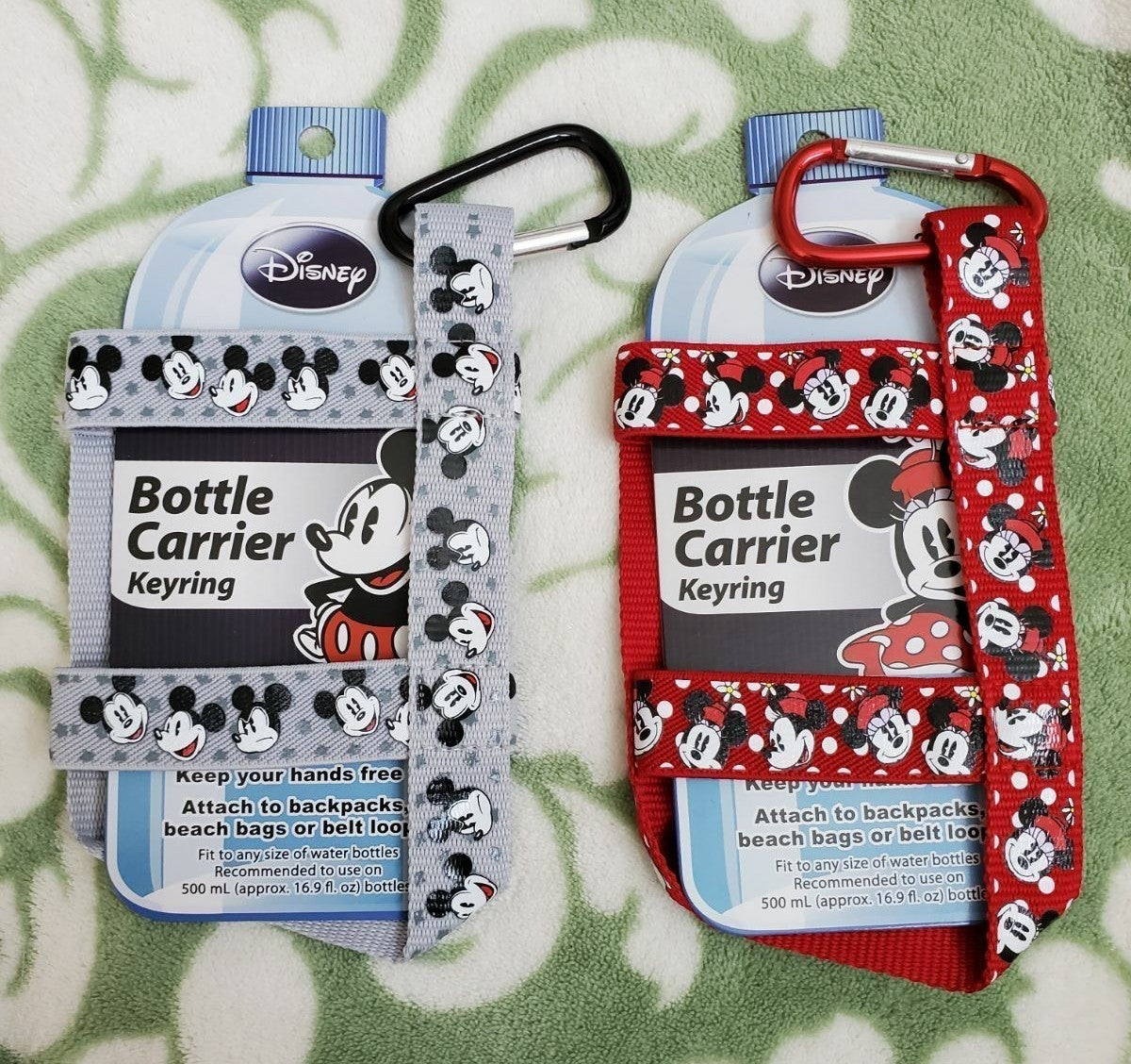 Disney Mickey Minnie Water Bottle Holder