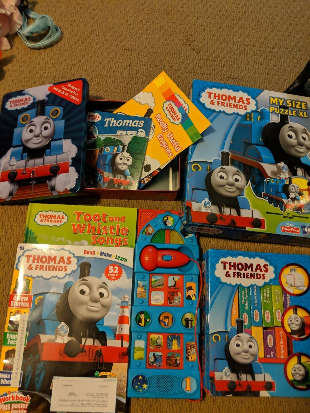thomas the train lot