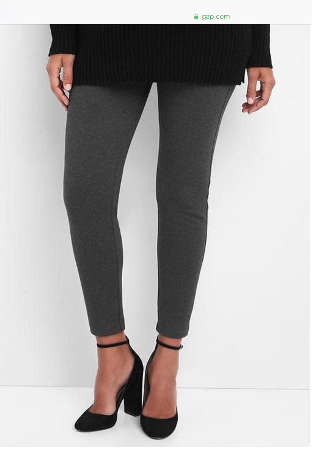 Gap Maternity Leggings Grey NWT small