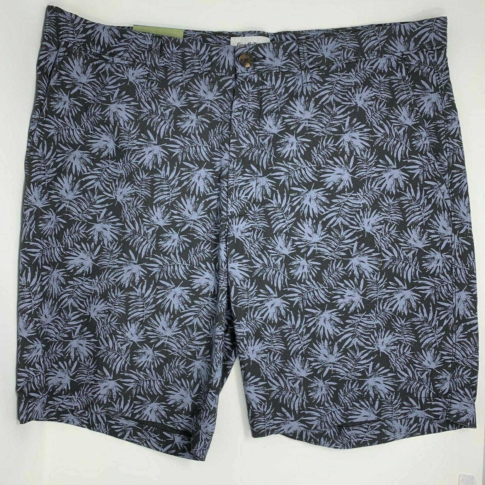 Goodfellow Linden Print Botanical Shorts