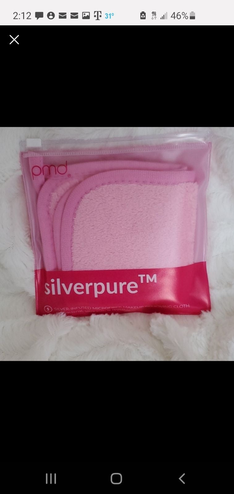 PMD Beauty Silverpure Makeup Removing Cl
