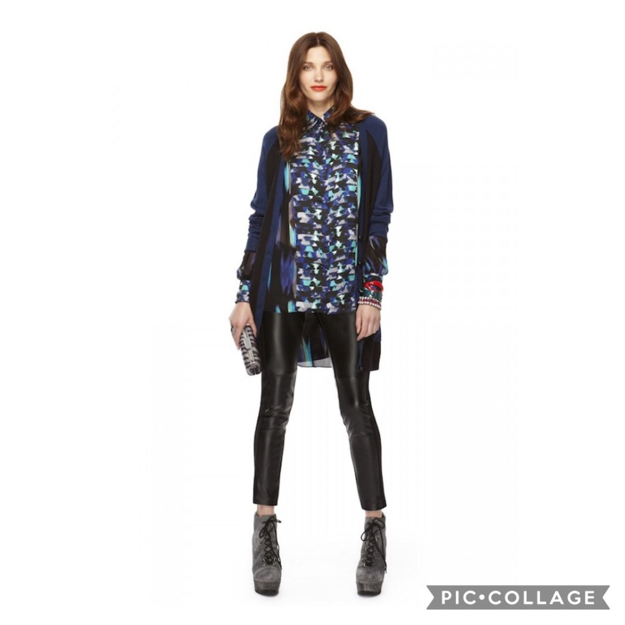 Kirna Zabete for Target sheer blouse L