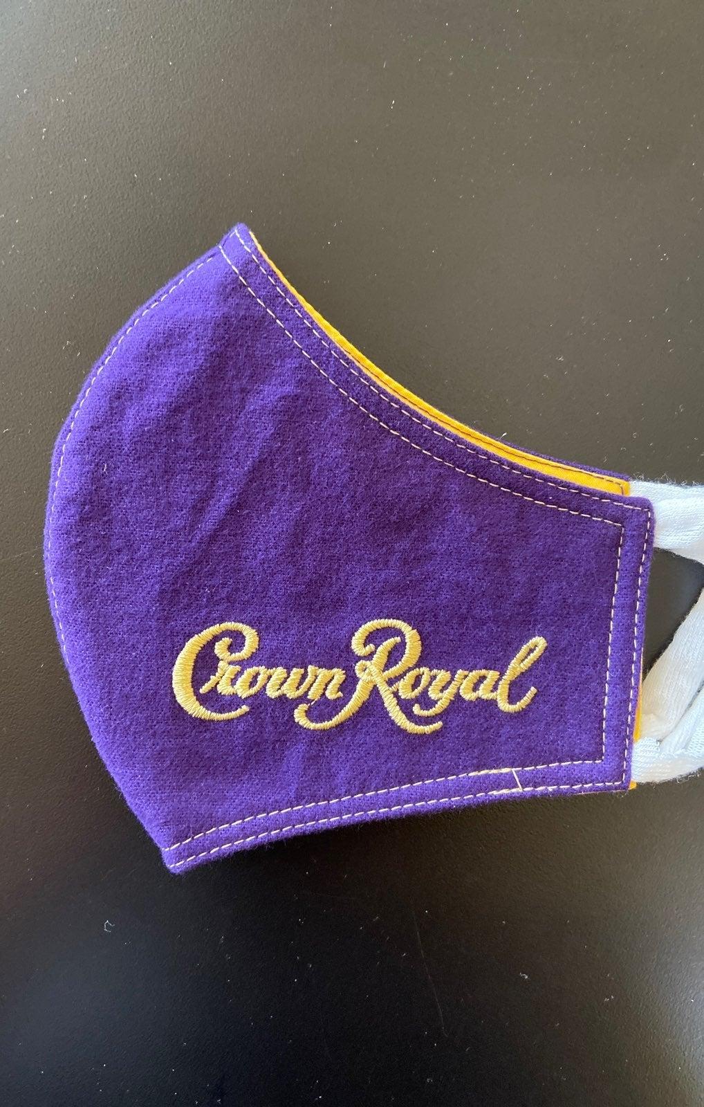 Crown Royal face mask