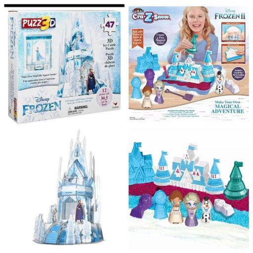 Disney Frozen II Bundle Cra-Z Snow & 3D