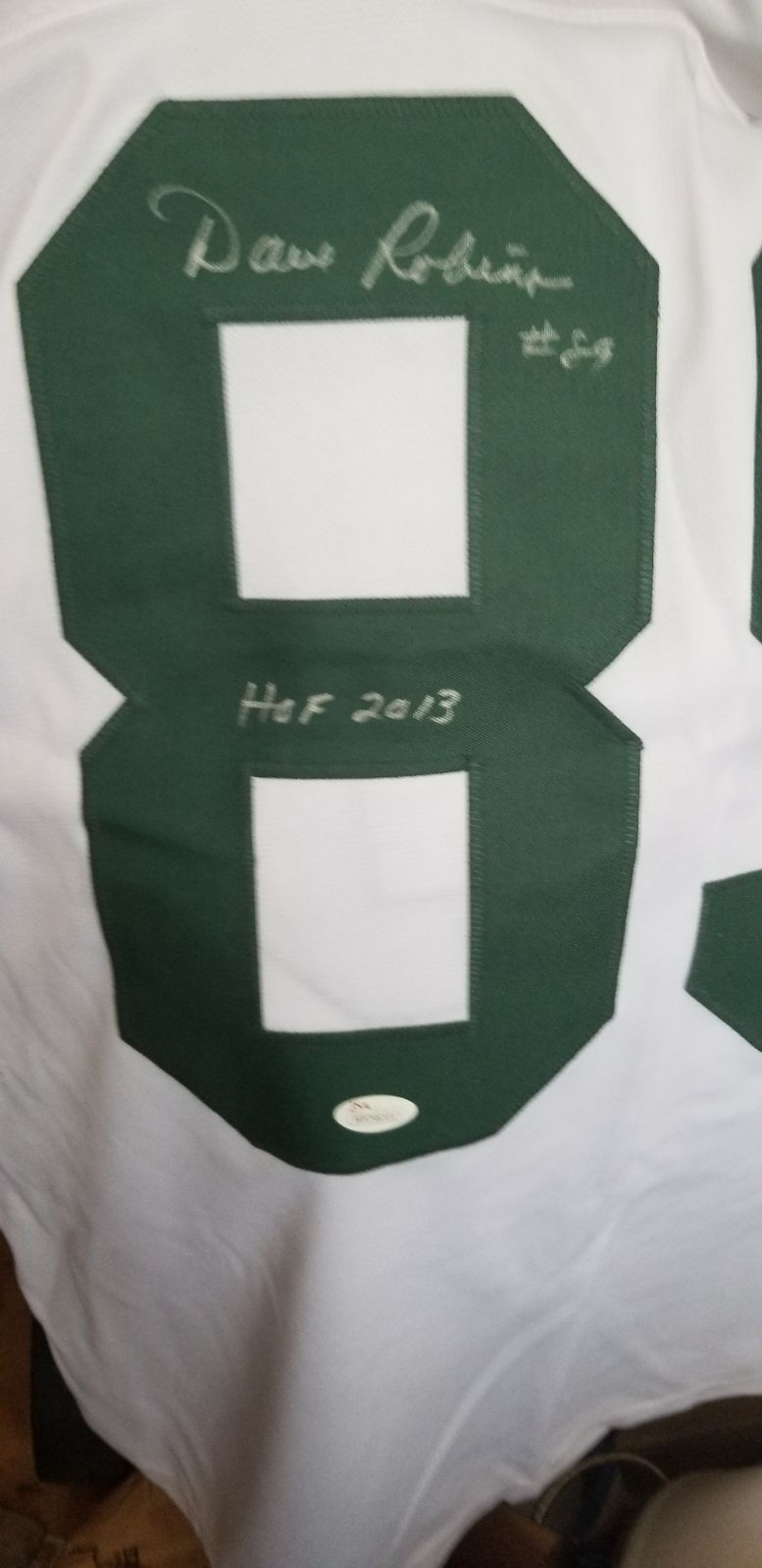 autographed jersey Dave Robinson HOF