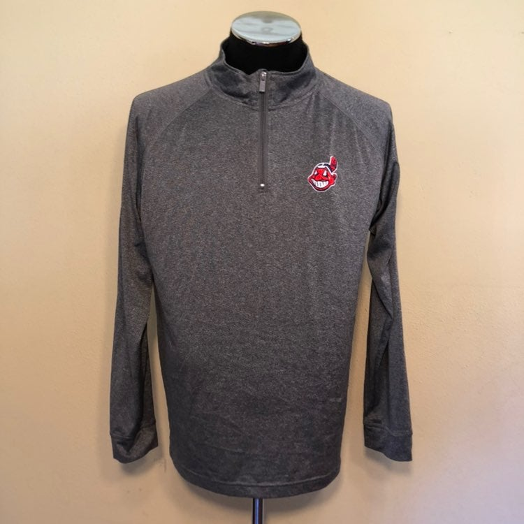 Cleveland Indians 1/4 Zip MLB Pullover