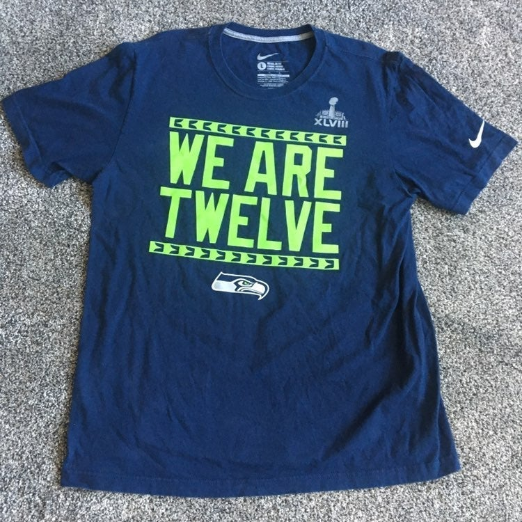 Seattle Seahawks Shirt Nike Superbowl