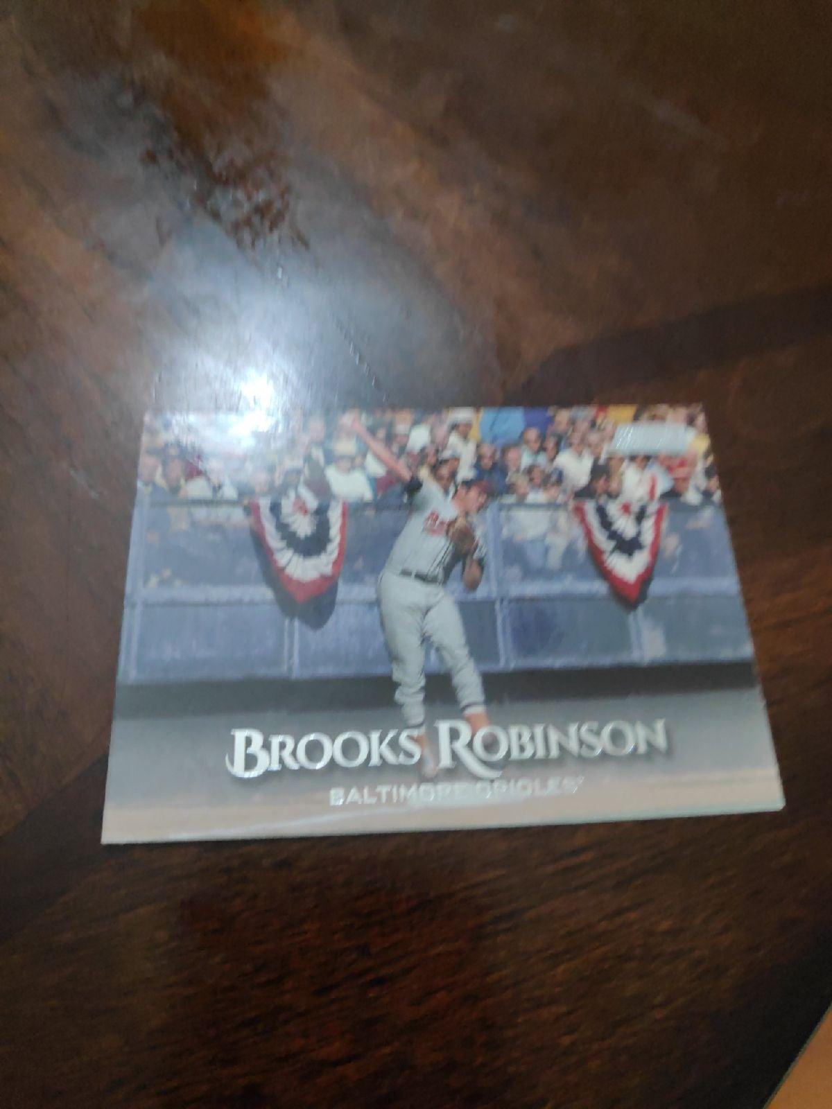 Brooks Robinson card