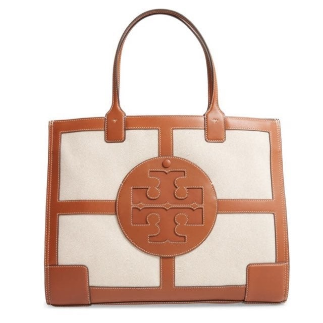 Tory Burch Ella Quardrant Leather, Canva