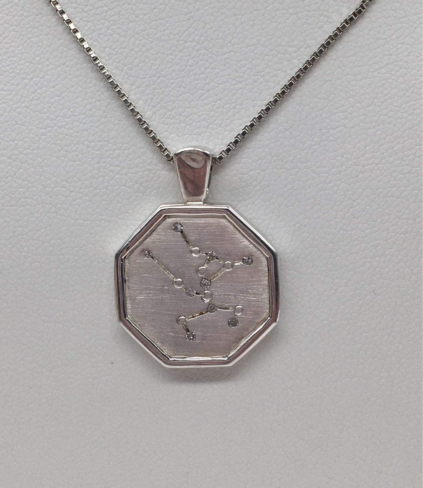 Vintage Sterling Constellation Necklace
