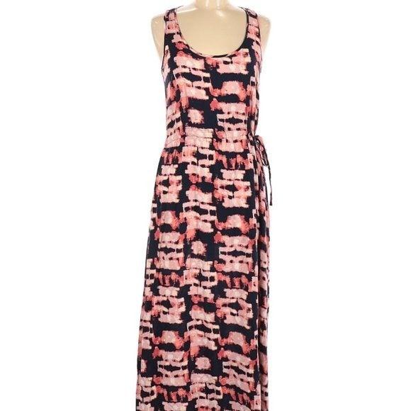 Bar III Multicolor Maxi Dress Size M