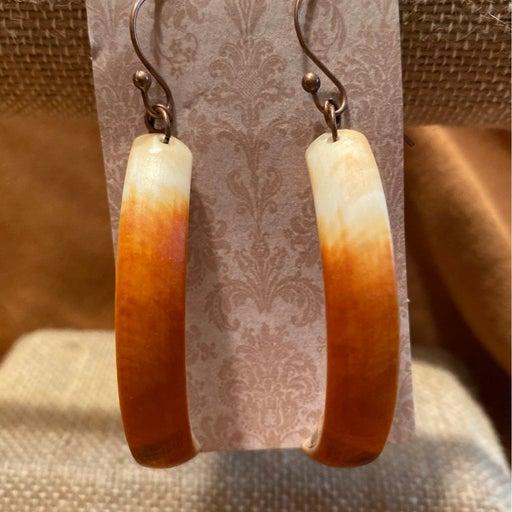 Handmade Beaver Teeth Earrings
