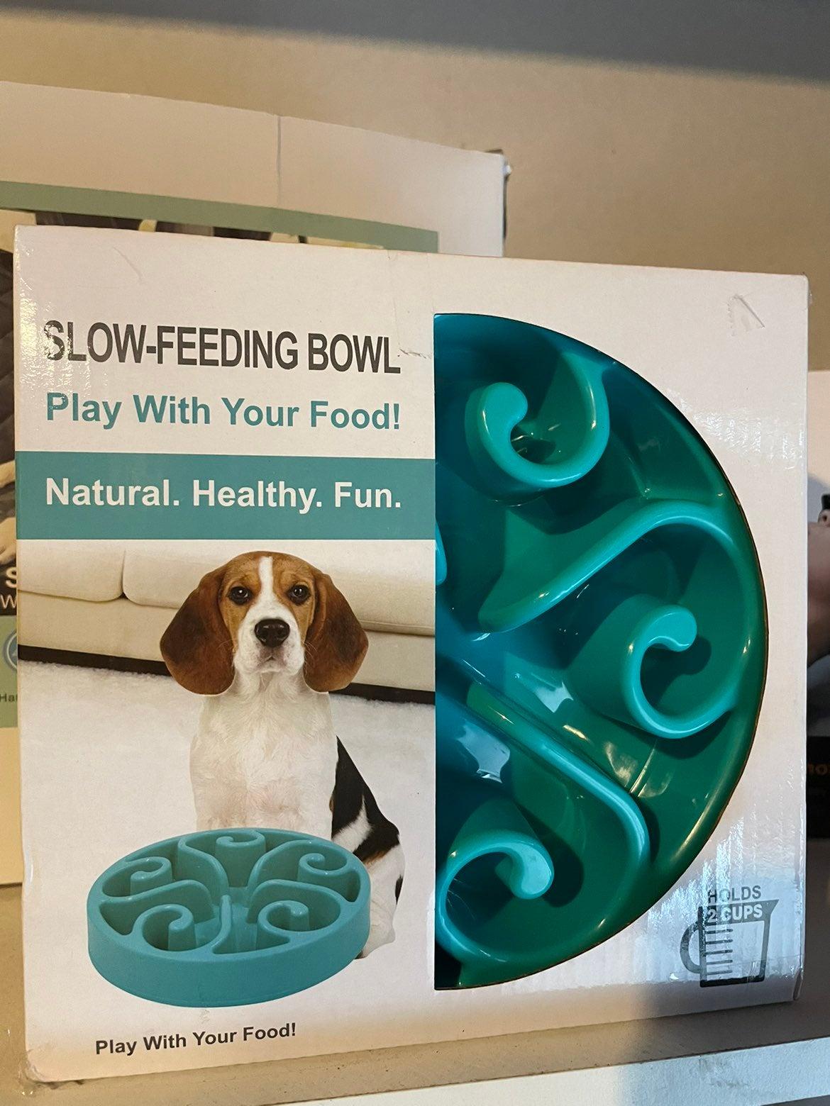 Slow Feeding Dog bowl