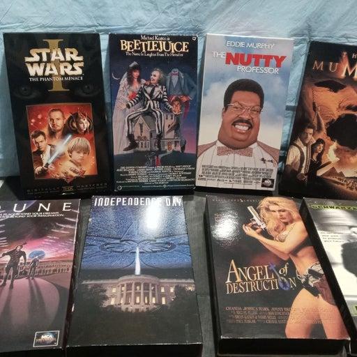 8 pack VCR cassettes