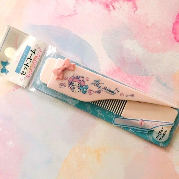 My Melody Pocket Comb Sanrio Japan