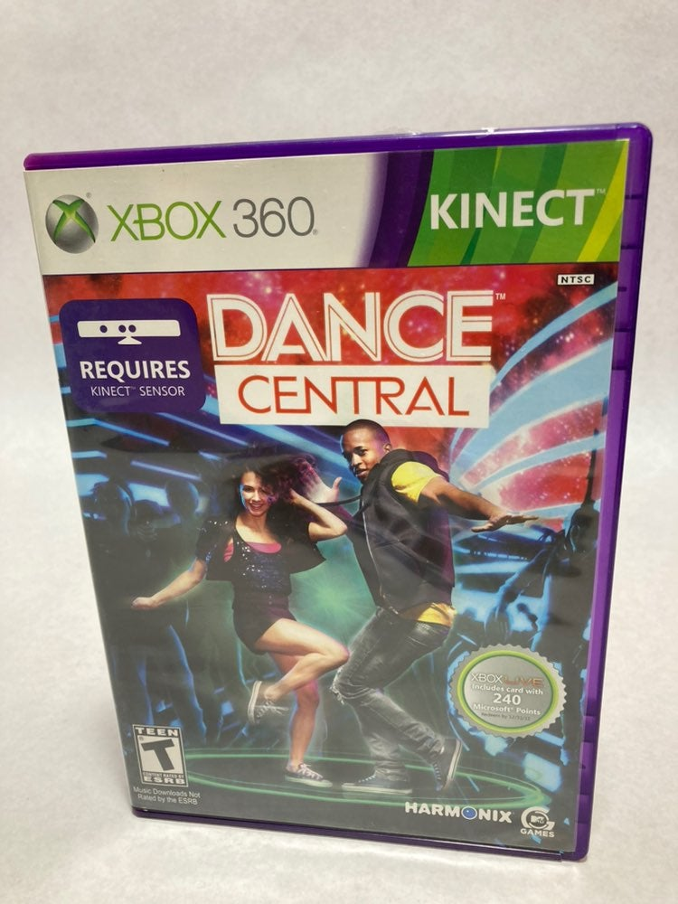 Dance Central Fitness for xbox 360 kinec