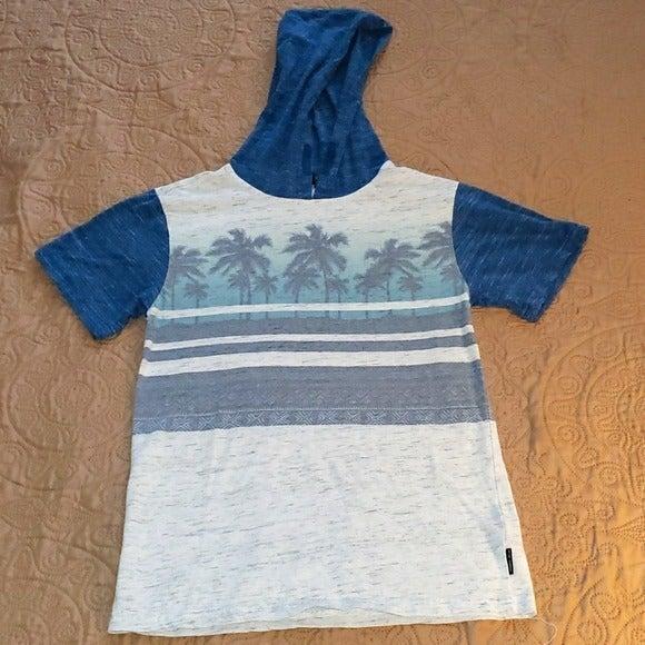 Ocean Current Short Sleeved Hoodie