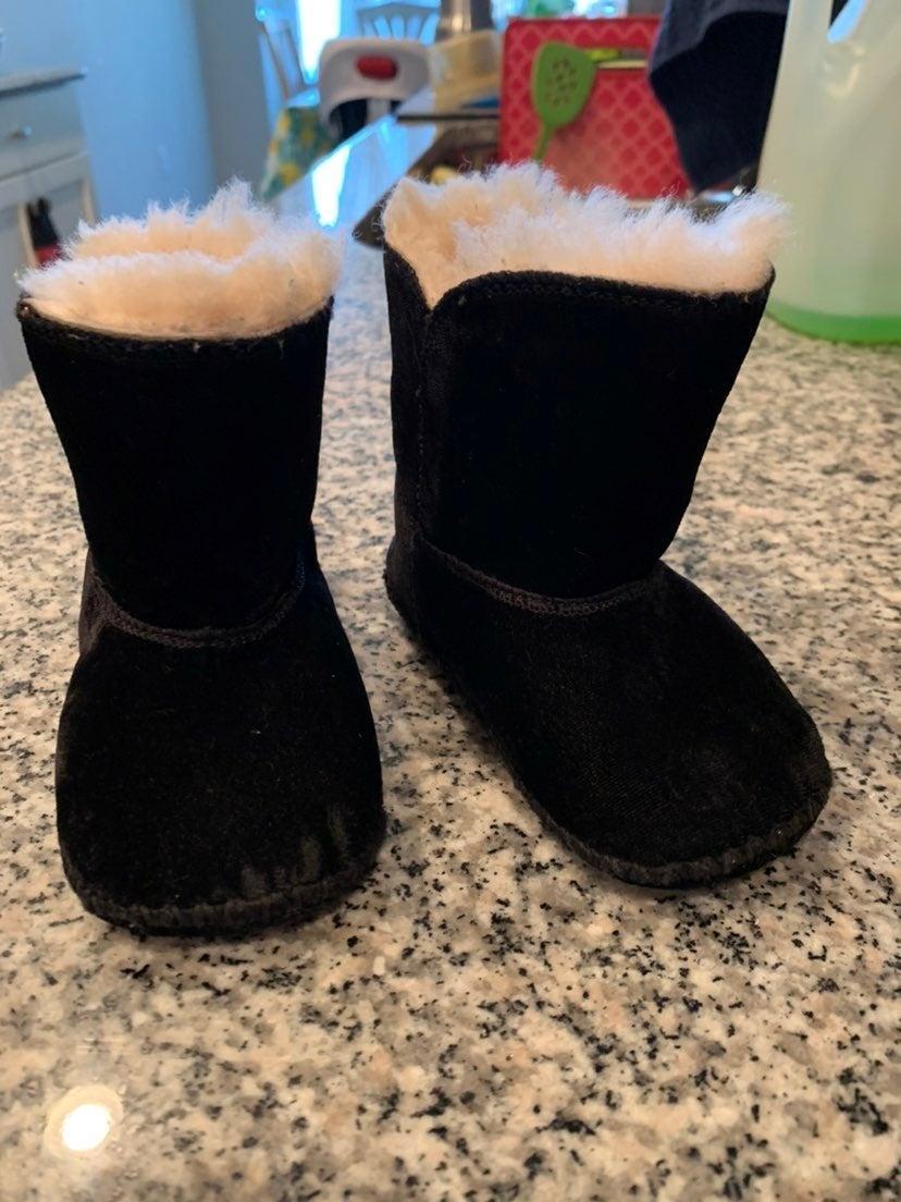 Ugg velvet boots