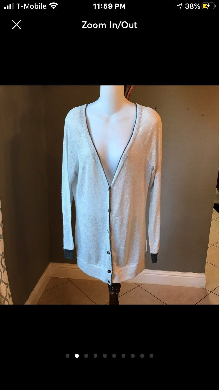 Wetseal Button Down Cardigan Sweater