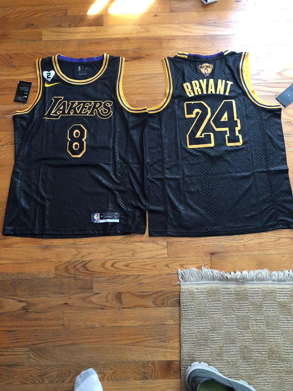 Kobe Bryant 8/24 NBA FINALS Jersey XL