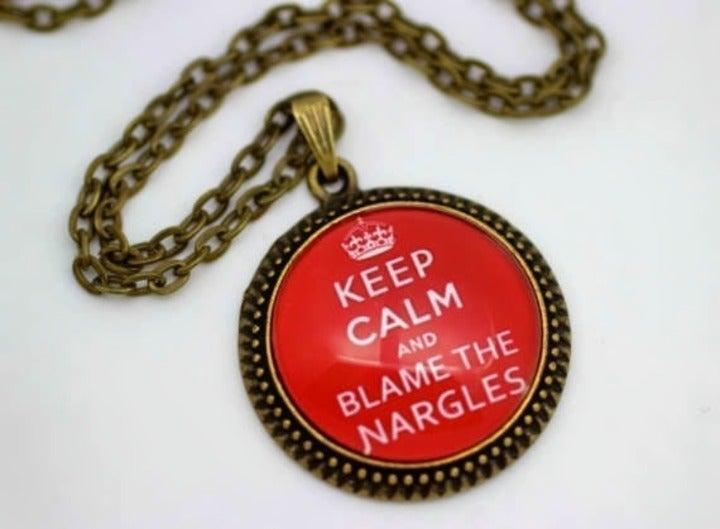 Harry Potter Art Pendant Necklace