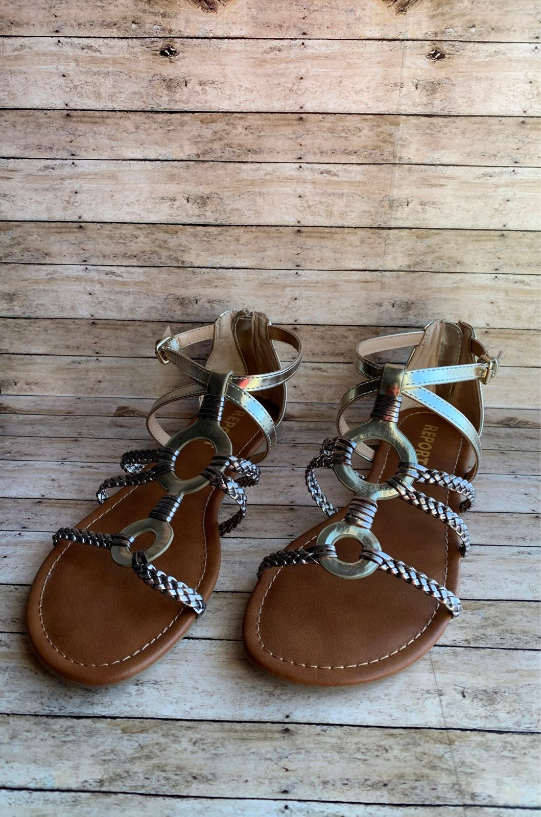New Report Gustava Sandals Size 8.5