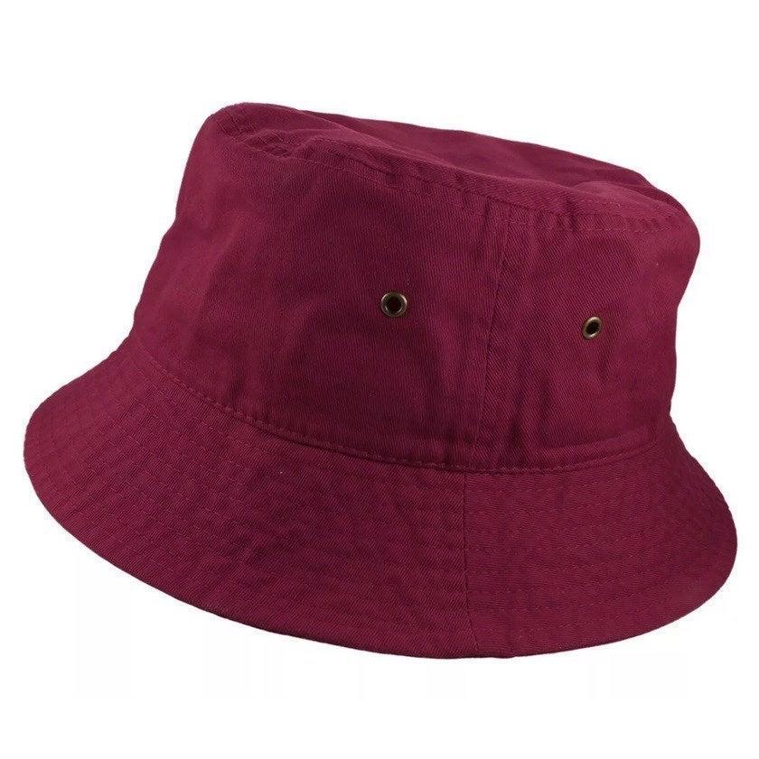Burgundy Bucket Hat