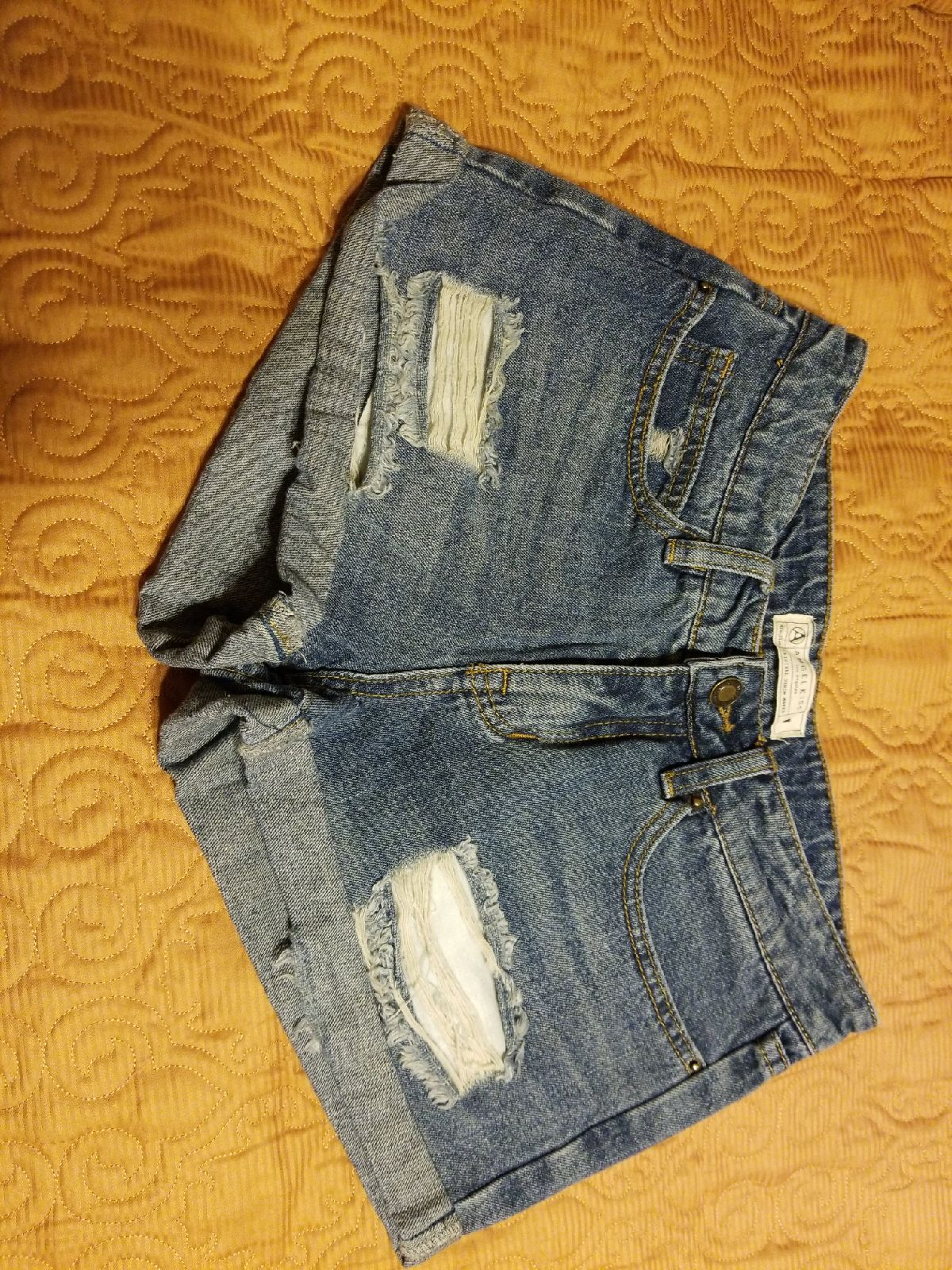 denim shorts