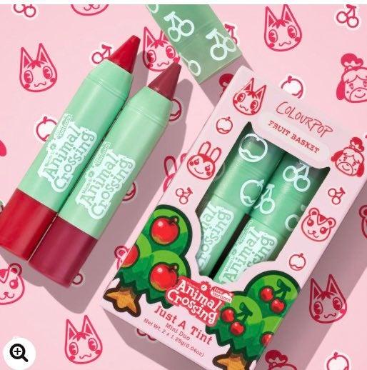 Colourpop X Animal Crossing Just a tint